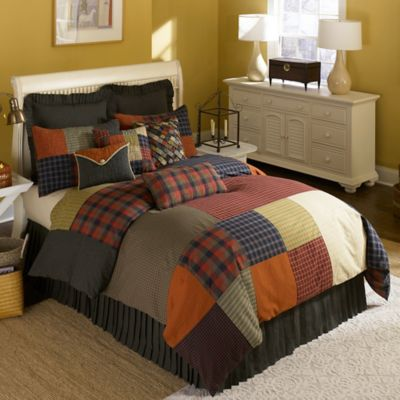 Donna Sharp Woodland Square Twin Duvet Cover