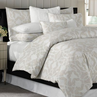 Barbara Barry® Poetical King Duvet Cover in Natural