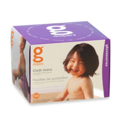 gDiapers 105-Pack Cloth Liners