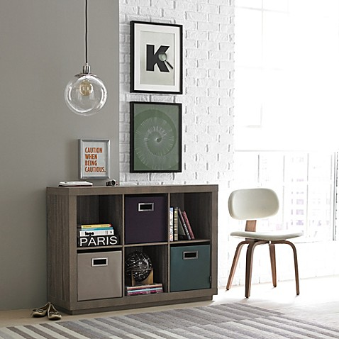 Kenneth Cole Reaction Home 6 Cube Horizontal Organizer