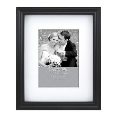 Occasions 5-Inch x 7-Inch Photo Frame in Black
