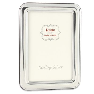 Eccolo™ Sterling Silver 4-Inch x 6-Inch with Hyde Park Border