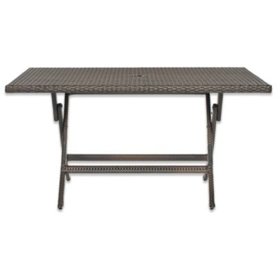 Safavieh Dilettie Rectangle Folding Table