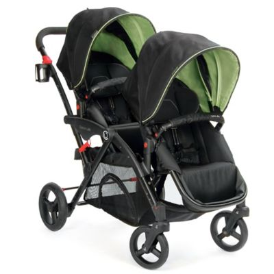 Contours® Options® Elite Tandem Stroller in Envy Green