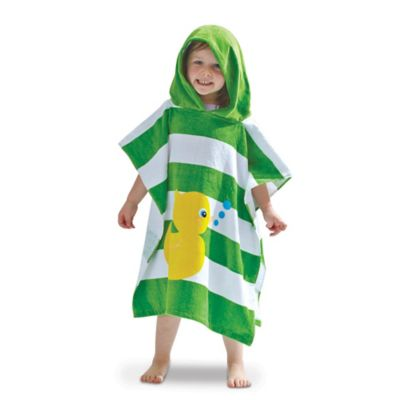 Kid's Hooded Duck Bath Towel