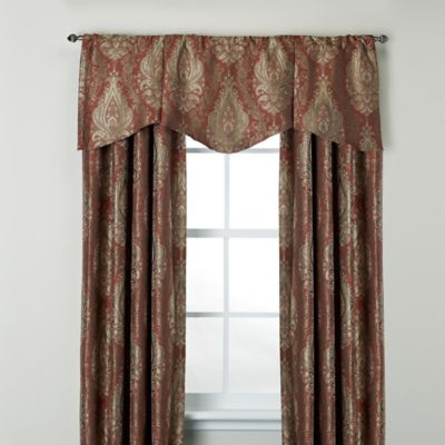 Venezia 95-Inch Window Curtain Panel in Blue