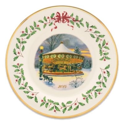 Lenox® 2014 Holiday Collector's Carousel Plate