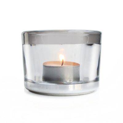 Fifth Avenue Luxe Praha Silver Accents Votive/Tealight Holder