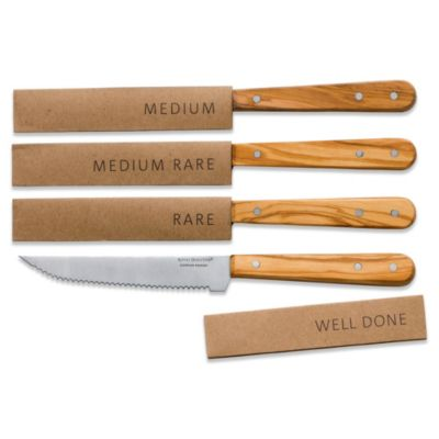 Steel Set Steak Knives