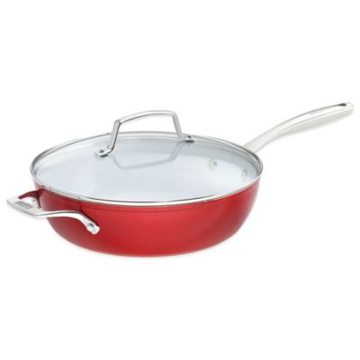 Bialetti® Aeternum Revolution 12-Inch Covered Deep Saute Pan