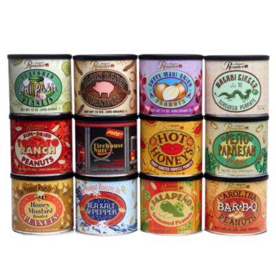 The Peanut Roaster™ 12-Pack Flavored Peanut Variety Pack