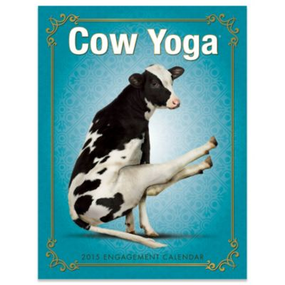 Cow Yoga 2015 Engagement Calendar