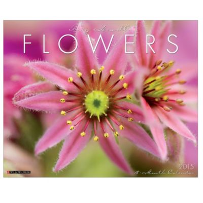 Tony Howell's Flowers 2015 18-Month Wall Calendar