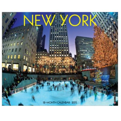 2015 New York Wall Calendar
