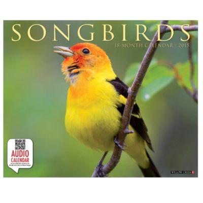 2015 Songbirds Wall Calendar