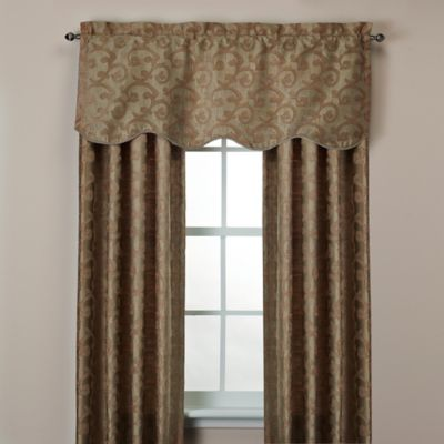 Buy Window Curtains With Matching Valances From Bed Bath
