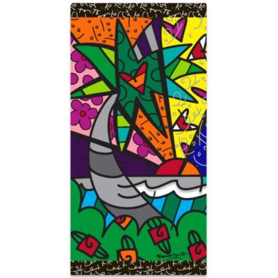R.B.Cotton Palm Tree Beach Towel