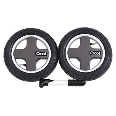 Joovy® Qool Pneumatic Rear Wheels & Tire Pump