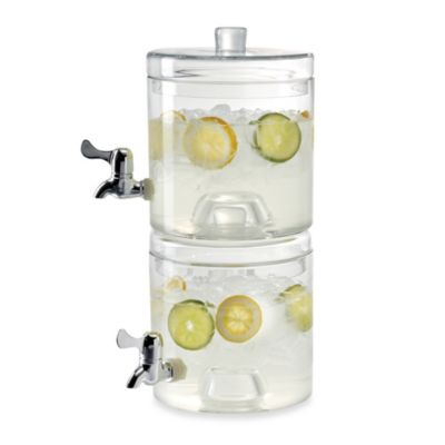 Artland Stacking 1.25-Gallon Beverage Server (Set of 2)