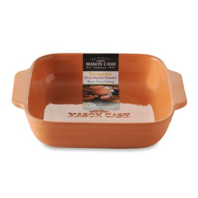 Mason Cash® Square 2 qt. Terracotta Baking Dish