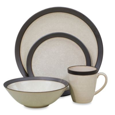 Sango Omega 16-Piece Dinnerware Set in Pearl