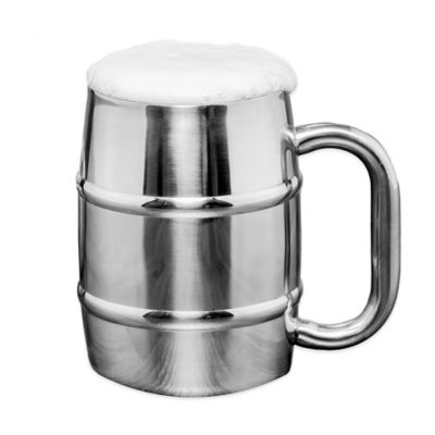 "Old Dutch ""Keep Cool"" 16.9 oz. Stainless Steel Mug"
