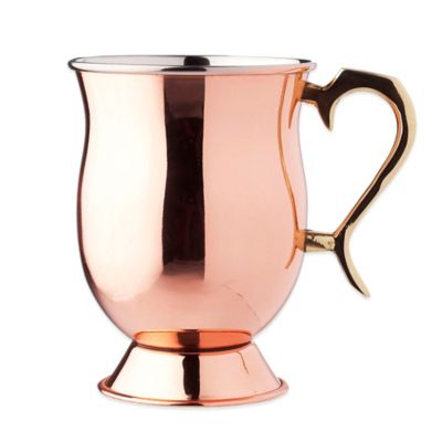 Old Dutch 16 oz. Moscow Mule Tankard in Solid Copper