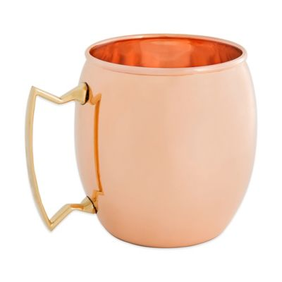 Old Dutch 16 oz. Moscow Mule Mug in Solid Copper