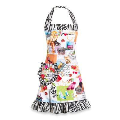 Carolyn's Kitchen Parisian Pin-Up Apron