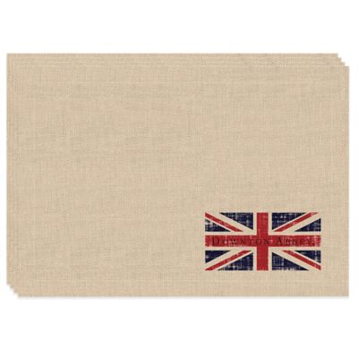 Downton Abbey® Union Jack Placemats (Set of 4)