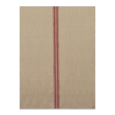 Downton Abbey® Village Collection Kitchen Tea Towel with Red Stripes