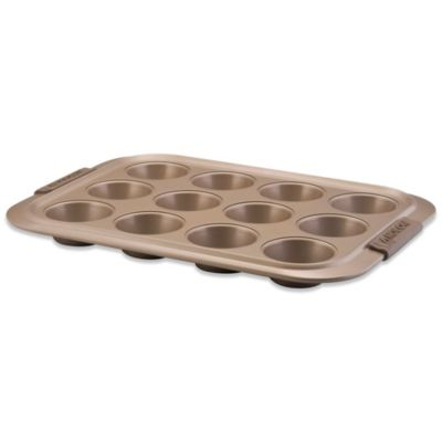Anolon® Advanced 12-Cup Nonstick Muffin Pan in Bronze