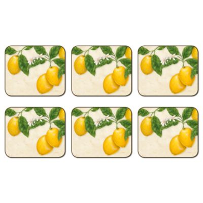 Jason Limone Hardboard Cork-Backed Coasters (Set of 6)