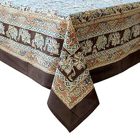 couleur nature malini tablecloth bed bath beyond. Black Bedroom Furniture Sets. Home Design Ideas