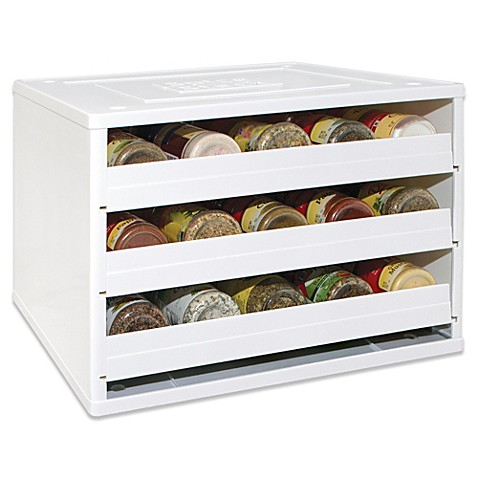 Youcopia 174 Chef S Edition Spicestack 174 30 Bottle Stackable Organizer Www
