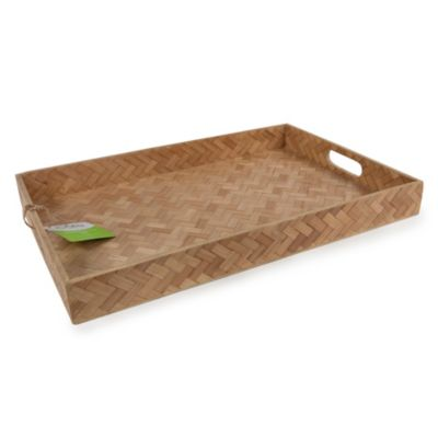 Large Rectangle Woven Tray