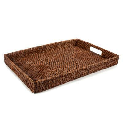 Rattan Classic Rectangle Tray