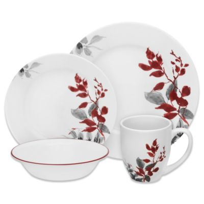 Buy Corelle 174 Boutique Cherish Embossed Square 16 Piece