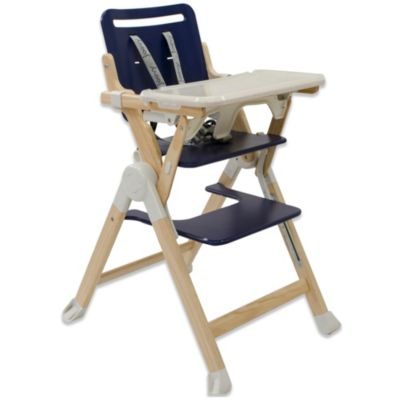 Joovy® Wood Nook High Chair in Blueberry