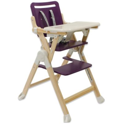 Joovy® Wood Nook High Chair in Purpleness