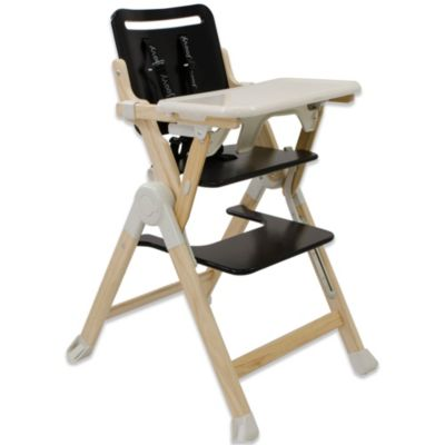 Joovy® Wood Nook High Chair in Black
