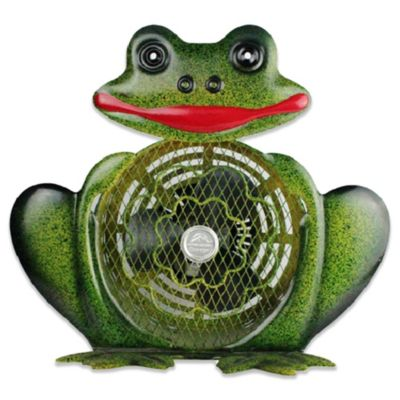 Himalayan Breeze Decorative Frog Fan