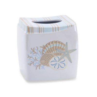 Avanti By the Sea Tissue Box Cover