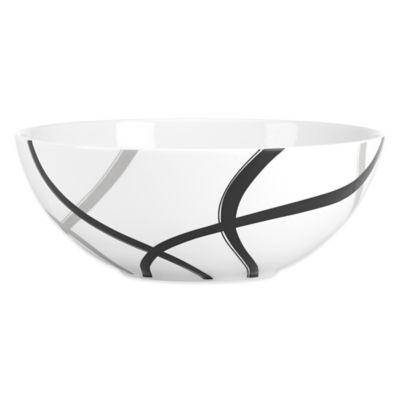 Lenox® Vibe Black & Grey Serving Bowl