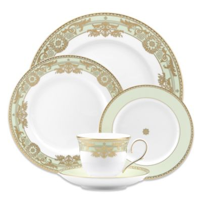 Marchesa by Lenox® Rococo Leaf 5-Piece Place Setting