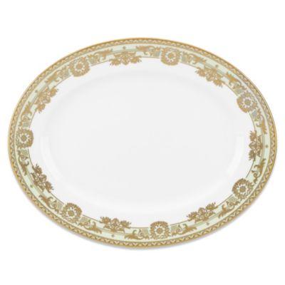 Marchesa by Lenox® Rococo Leaf 13-Inch Oval Platter
