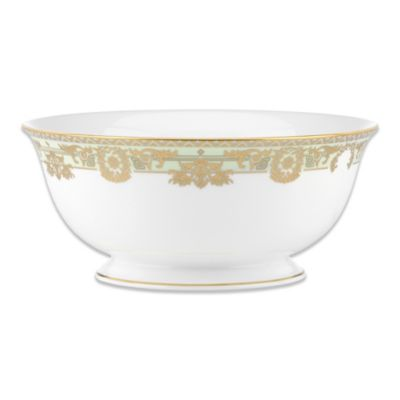 Marchesa by Lenox® Rococo Leaf 8 1/2-Inch Serving Bowl