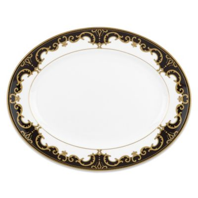 Marchesa by Lenox® Baroque Night 13-Inch Oval Platter