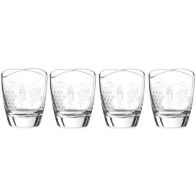 Qualia Orchard Double Old Fashioned Glass (Set of 4)