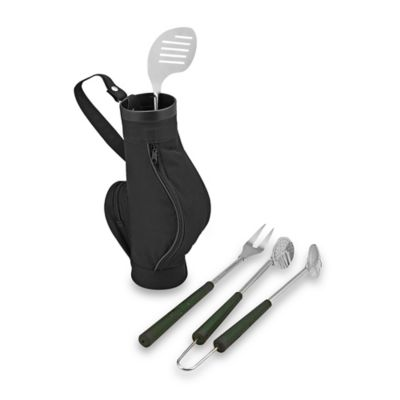 Golf Bag with BBQ Tool Set